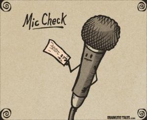 mic-check
